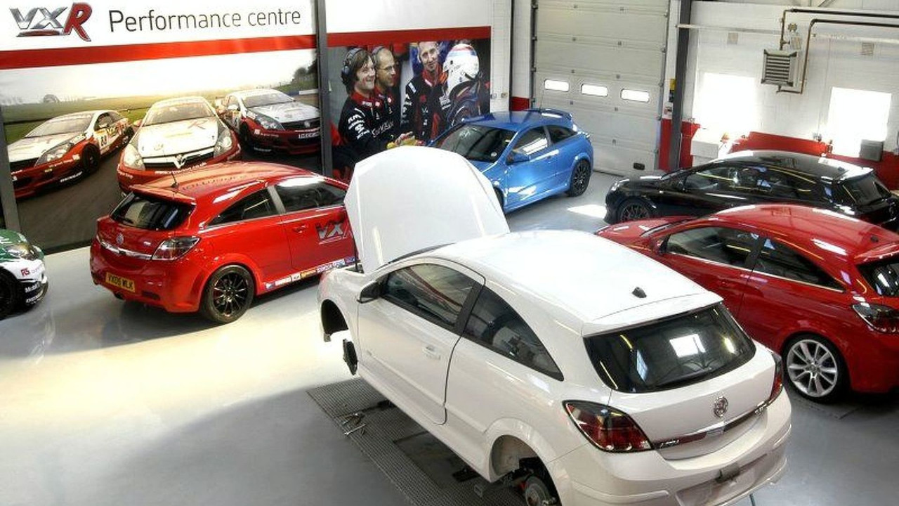 Vauxhall VXR Performance Centre