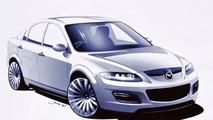 2002 Mazda 6 MPS sketch