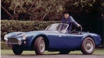Carroll Shelby with blue Cobra