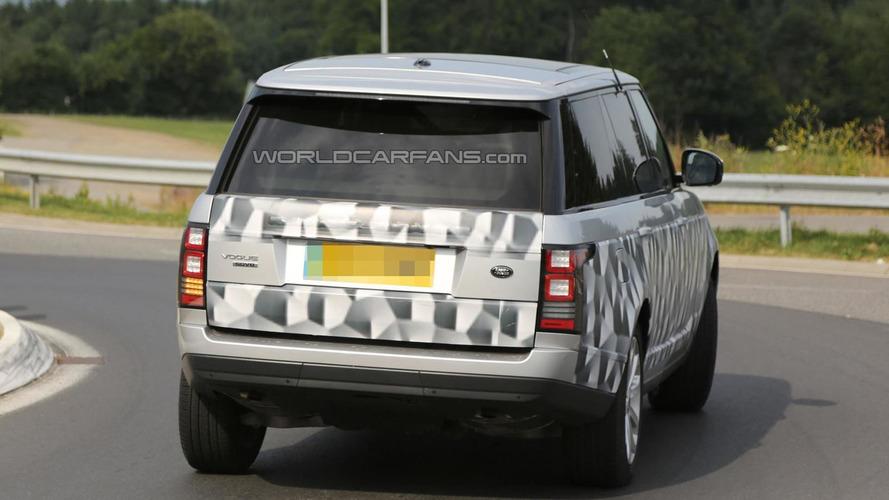 2014 Range Rover long wheelbase returns in spy shots
