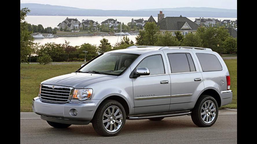 Sparen auf Amerikanisch: Chrysler Aspen mit Hybridantrieb