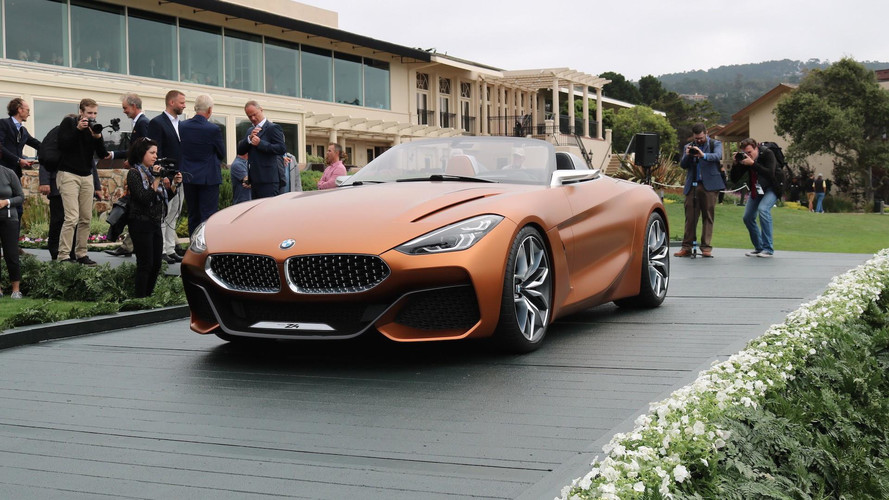 BMW Z4 Concept - Veja fotos ao vivo do futuro roadster em Pebble Beach