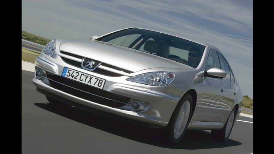 Peugeot 607: Jetzt mit wartungsfreiem Partikelfilter