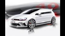 Volkswagen Golf GTI Clubsport, primi disegni