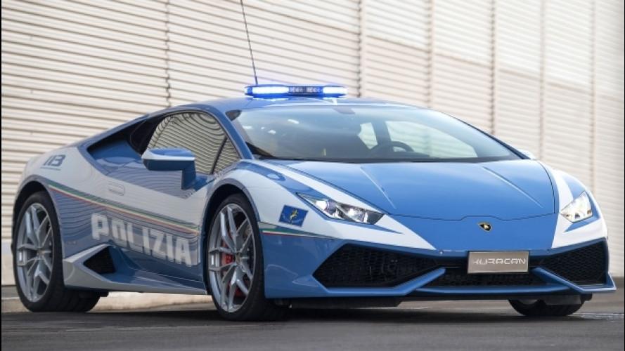Lamborghini, una nuova Huracan per la Polizia [VIDEO]