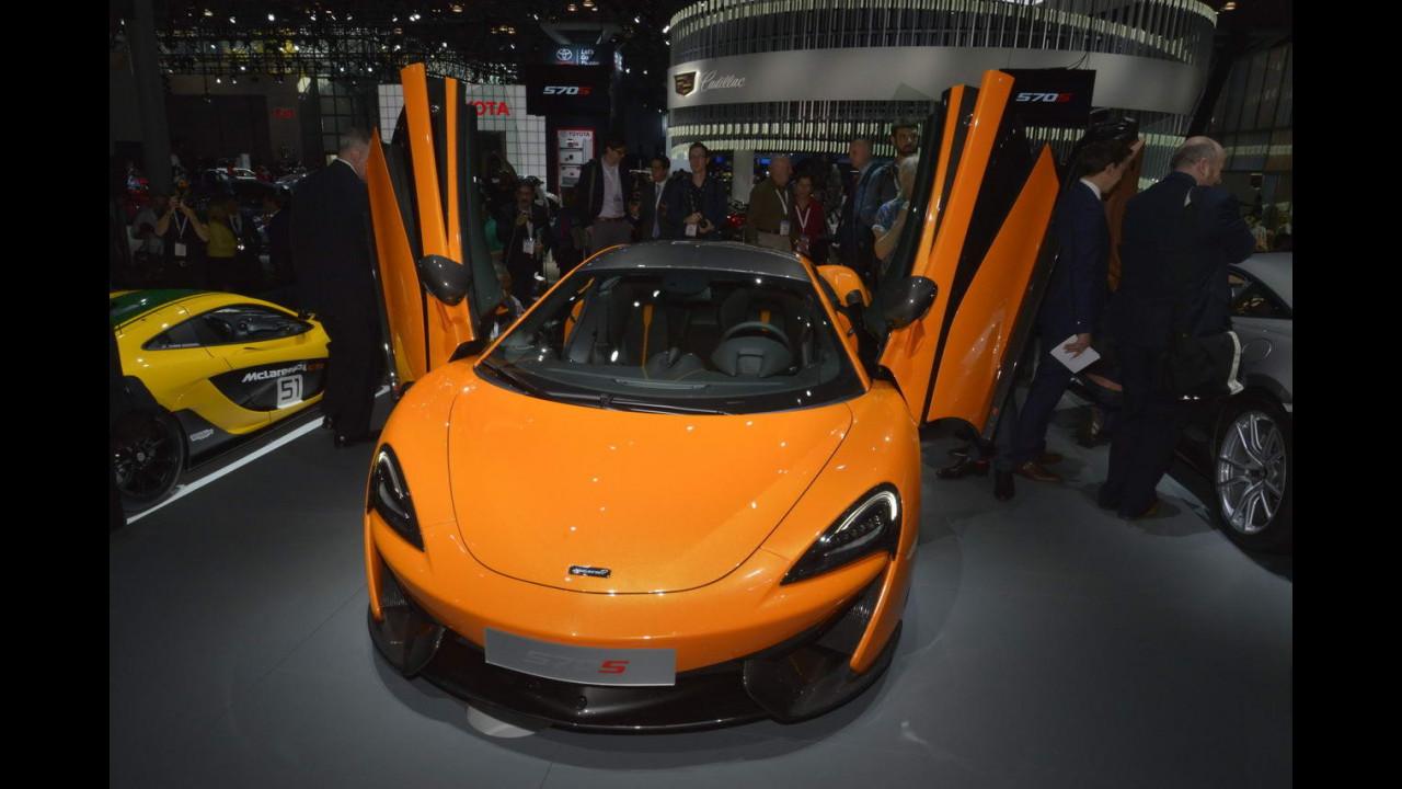 McLaren 570S al Salone di New York 2015