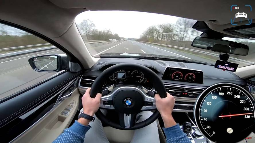BMW 760Li top speed