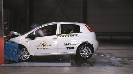 Fiat Punto Gets Zero Stars In Euro NCAP Crash Test