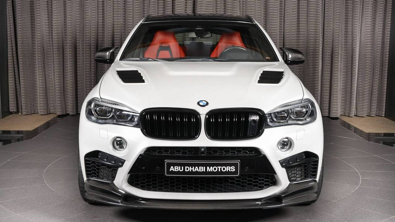 BMW X6 M - 3D Design kiti
