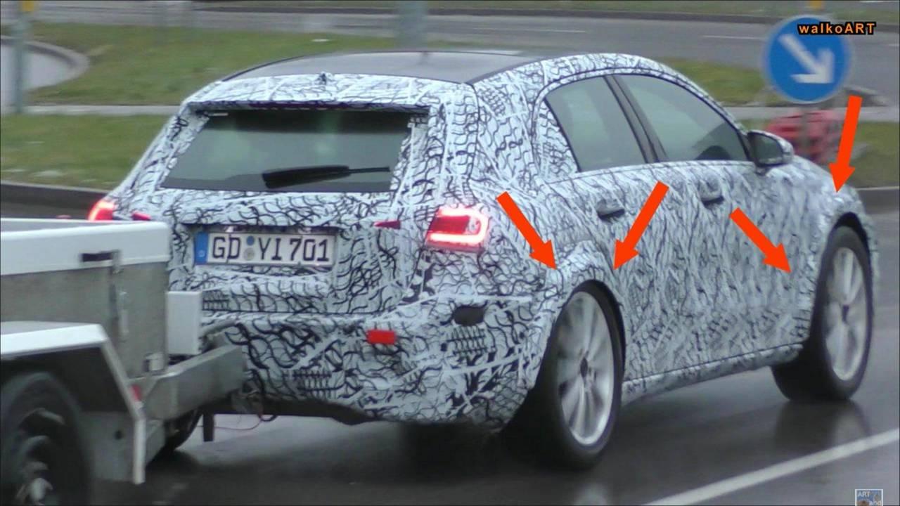 Mercedes-Benz GLA-Class Spy Video