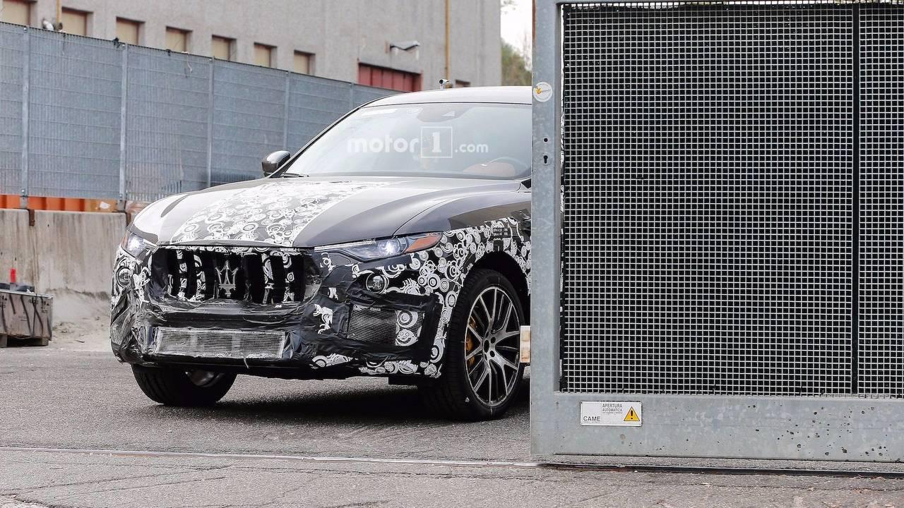 Maserati Levante GTS New Spy Photos