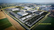 Lamborghini expansión de la fábrica