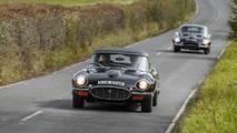 Jaguar E-Types Jaguar Land Rover Classic Drive Eastnor Castle