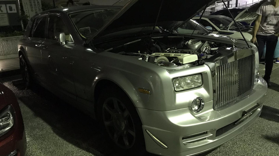 Rolls-Royce Phantom Has The Heart Of A 900-HP Toyota Supra