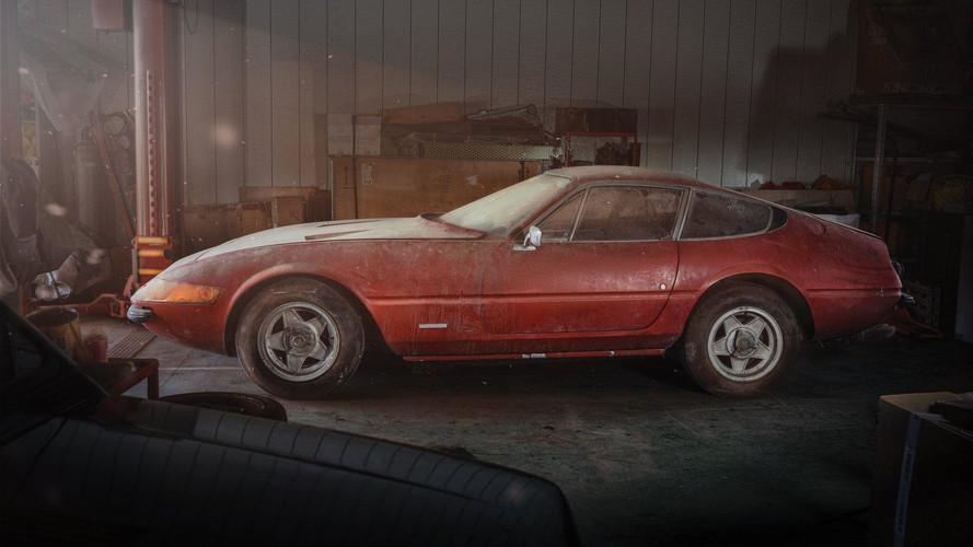 Ferrari Daytona 'Alloy' Barn Find Brings $2.1M At Auction [UPDATE]