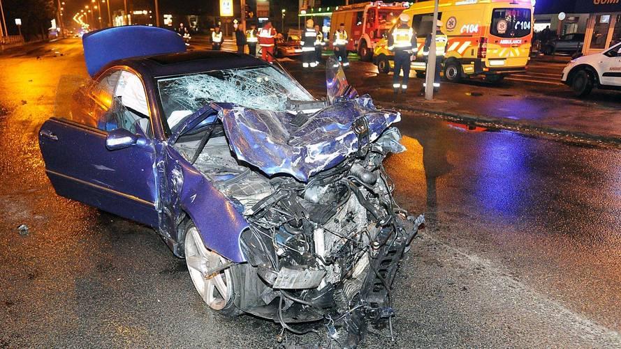 Szentendrei úti baleset
