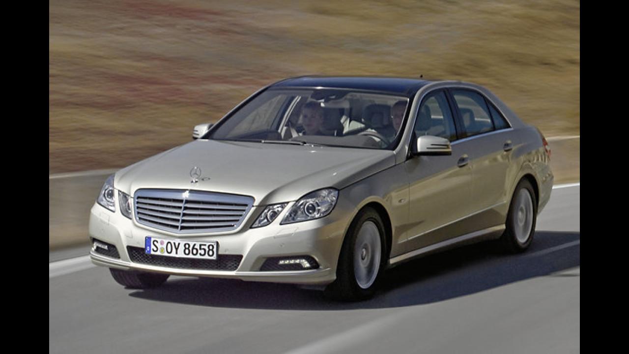 Obere Mittelklasse: Mercedes E-Klasse