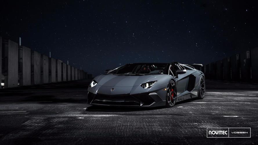 Novitec Supercharges Lamborghini Aventador SV Roadster To 970 HP