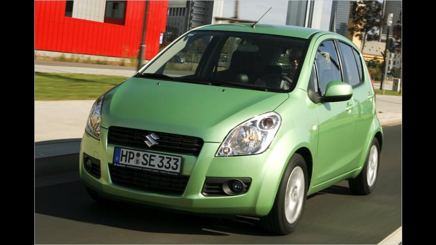 Suzuki Splash 1.0: PS rauf, Verbrauch runter