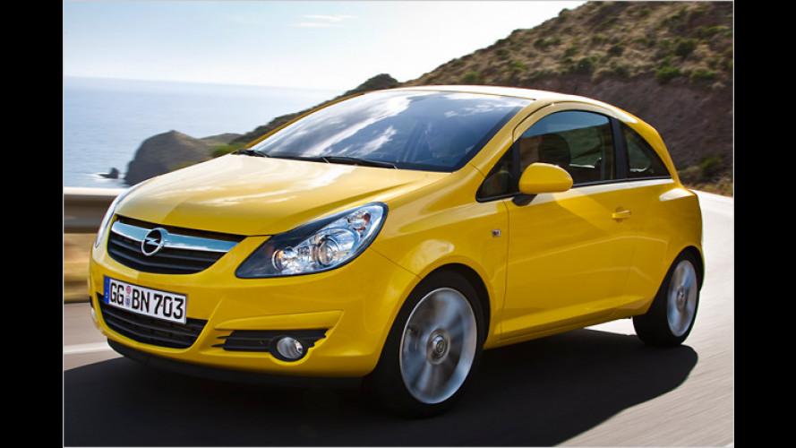 Opel spitzt den Corsa für 2010: Mehr Power, weniger Durst