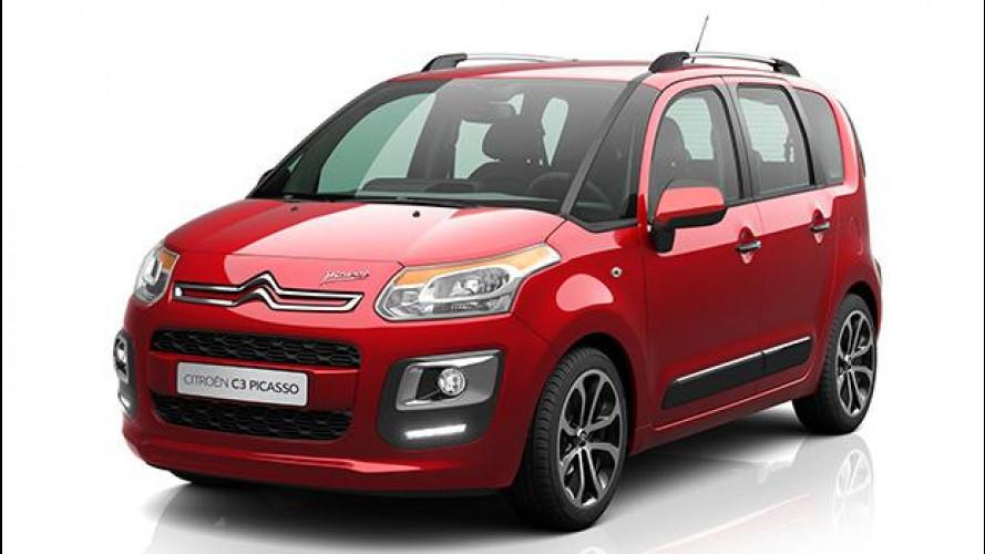 Citroën C3 Picasso, nuova gamma e prezzi più bassi