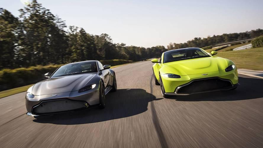 510 lóerős és könnyebb lett az új Aston Martin Vantage