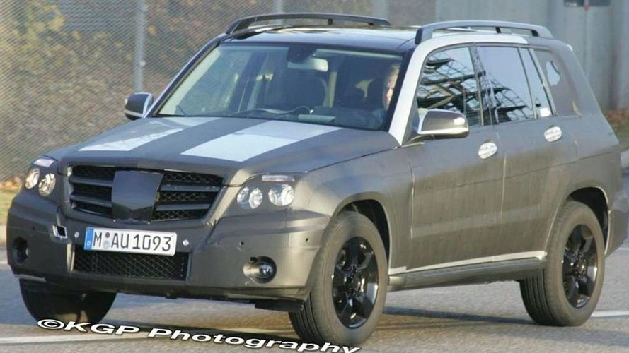 2009 Mercedes-Benz GLK Spied