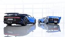 Bugatti Chiron et Vision Gran Turismo