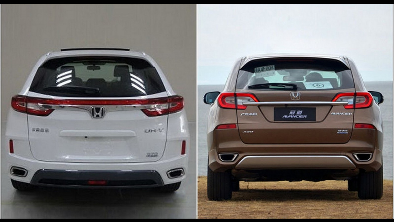 Novo Honda UR-V aparece