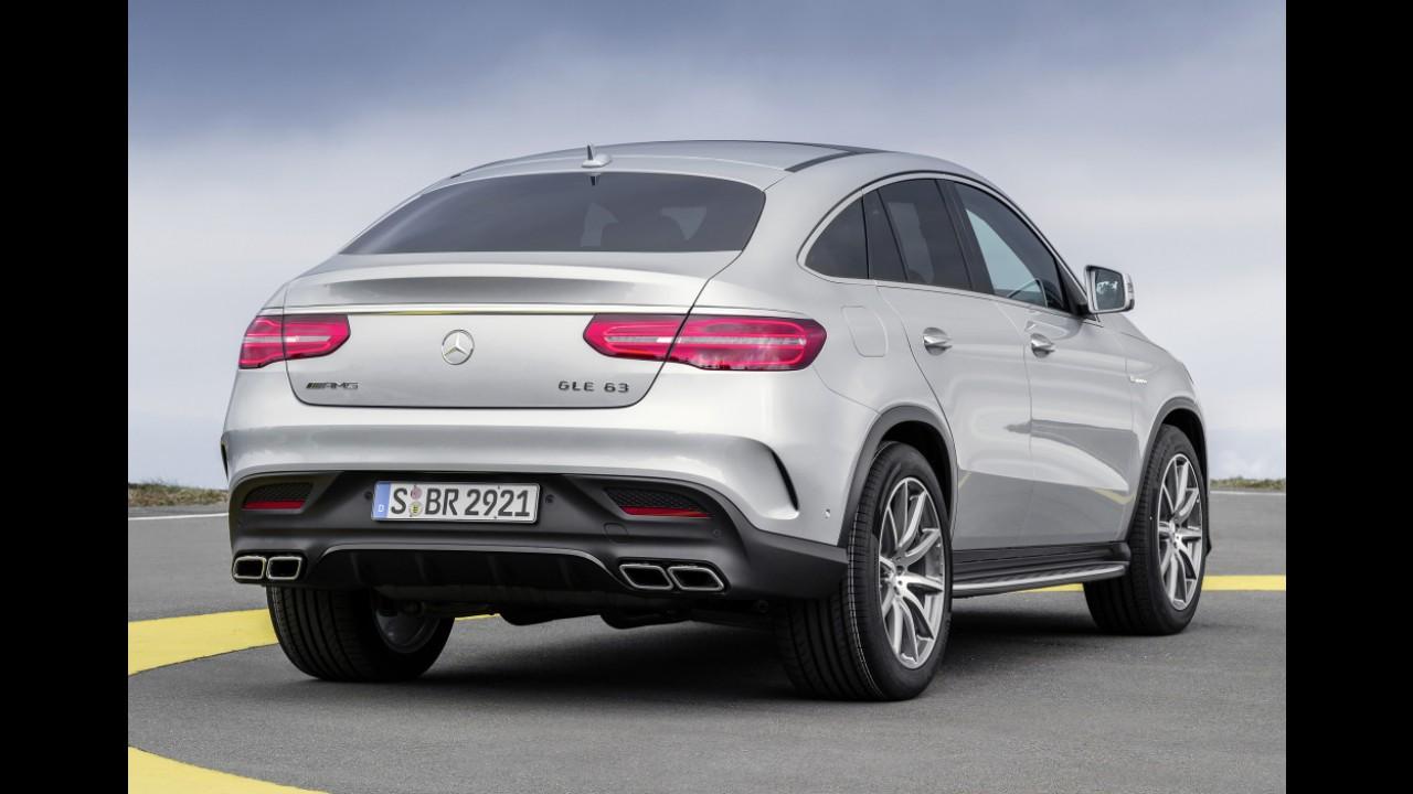 Mercedes inicia produção do GLE Coupé, que chega ainda em 2015 ao Brasil