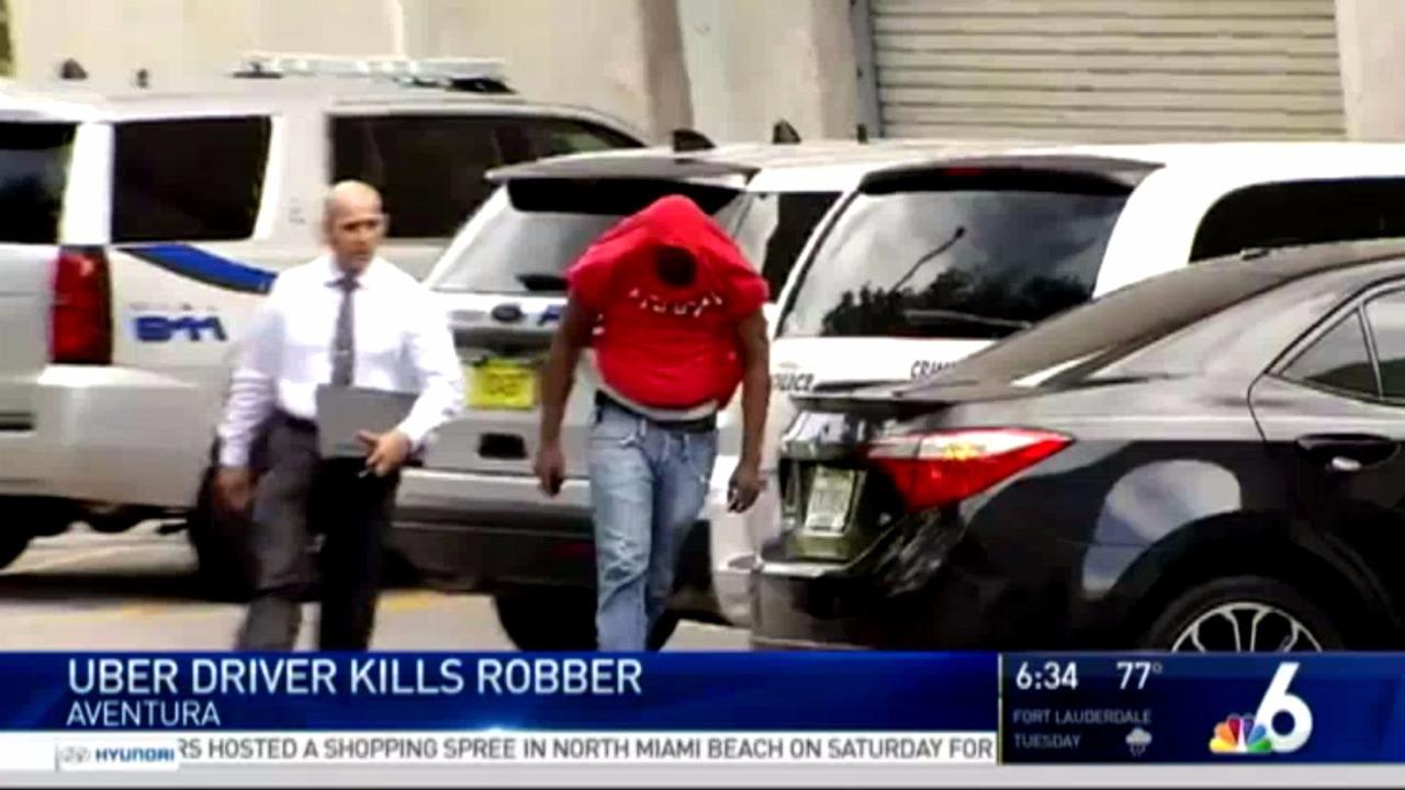 Uber sürücüleri, bir hırsızı vurdu ve bir yolcuyu bıçakladı