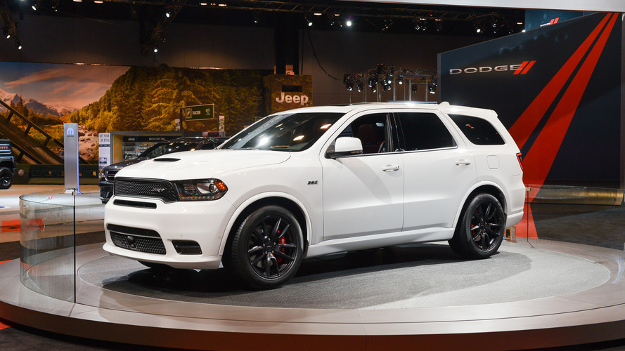 Behold the 2018 Dodge Durango SRT in all its badassery