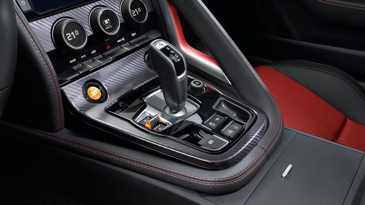 Jaguar start/stop engine button