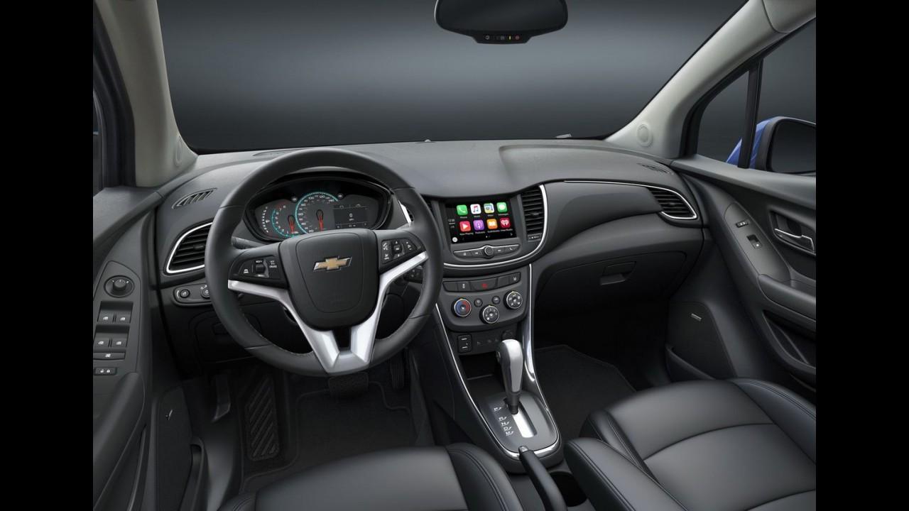 Chevrolet Tracker 2017 ganha novo visual e fica mais equipado