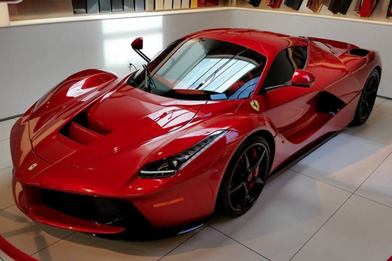 Lewis Hamilton Took Delivery of a Very Unique Ferrari LaFerrari