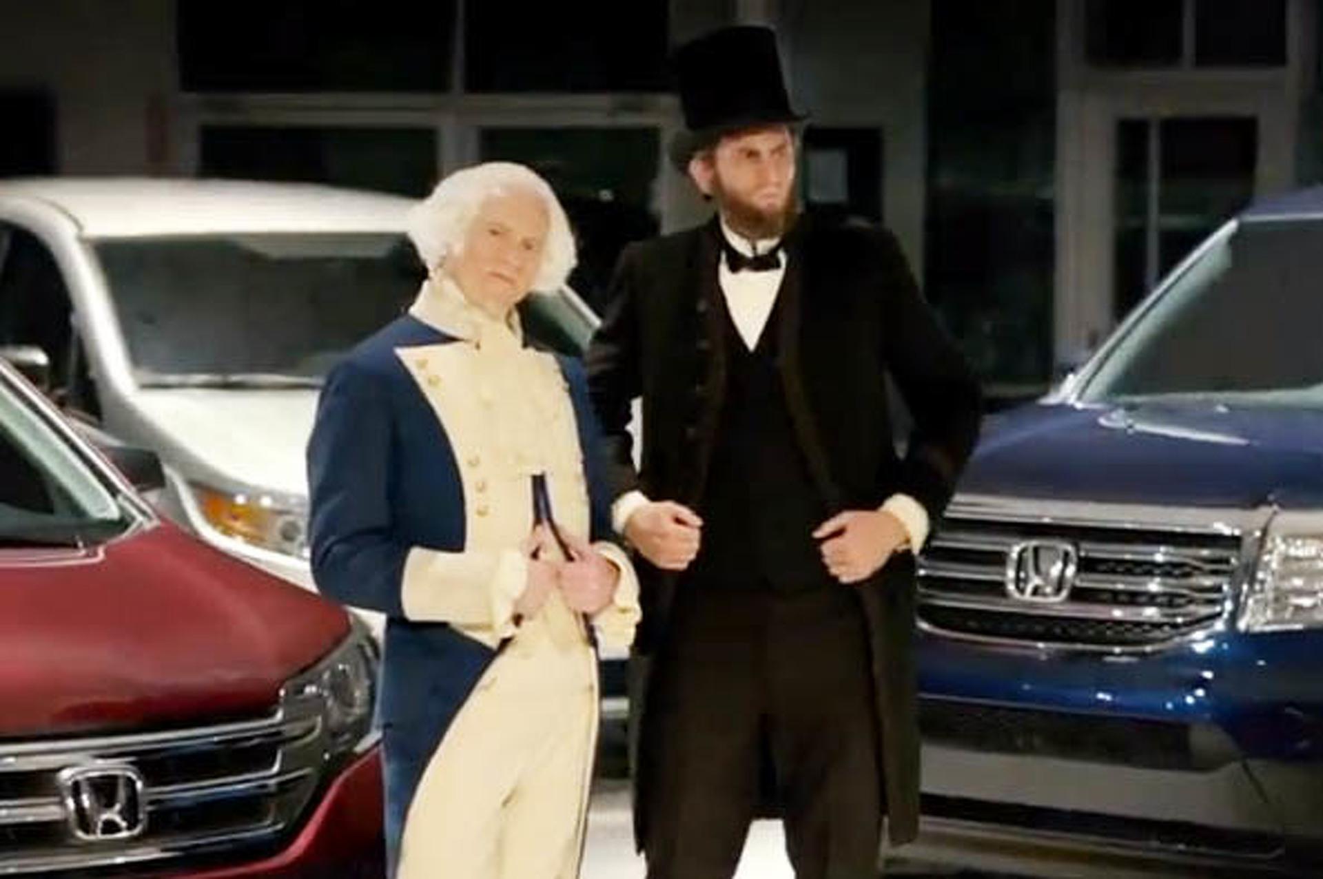 Honda's Presidents' Day Commercial Lacks Taste
