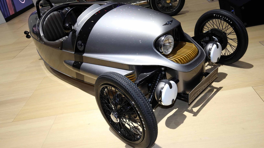 Morgan EV3 production version debuts in Geneva