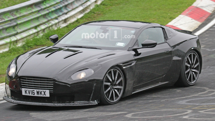 2018 Aston Martin Vantage spy photos 6-21-2016