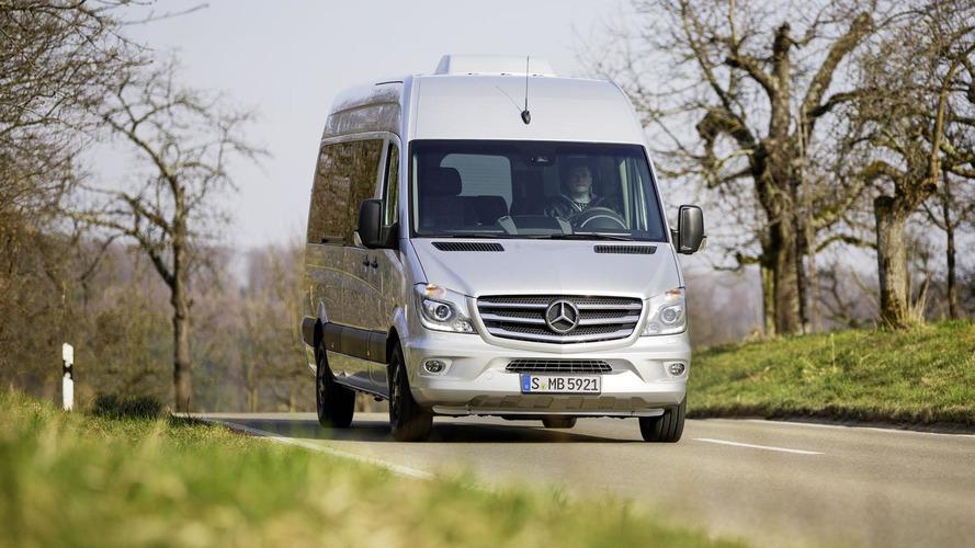 Mercedes Sprinter 20th anniversary special edition announced