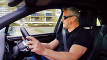 Matt LeBlanc testing the Porsche Macan