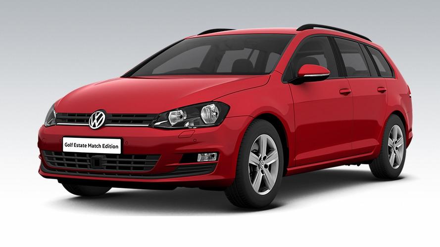 VW Golf Estate Match Edition for U.K. brings £1,875 savings