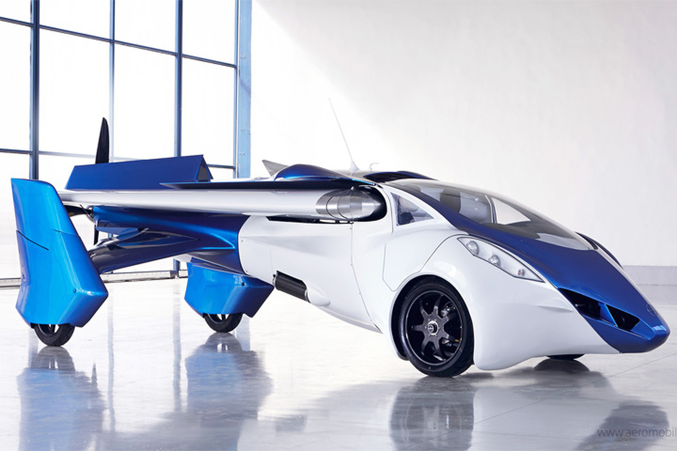 Watch the AeroMobil 3.0 Flying Car Take Flight