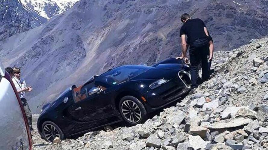Bugatti Veyron, un assurdo incidente sulle Ande