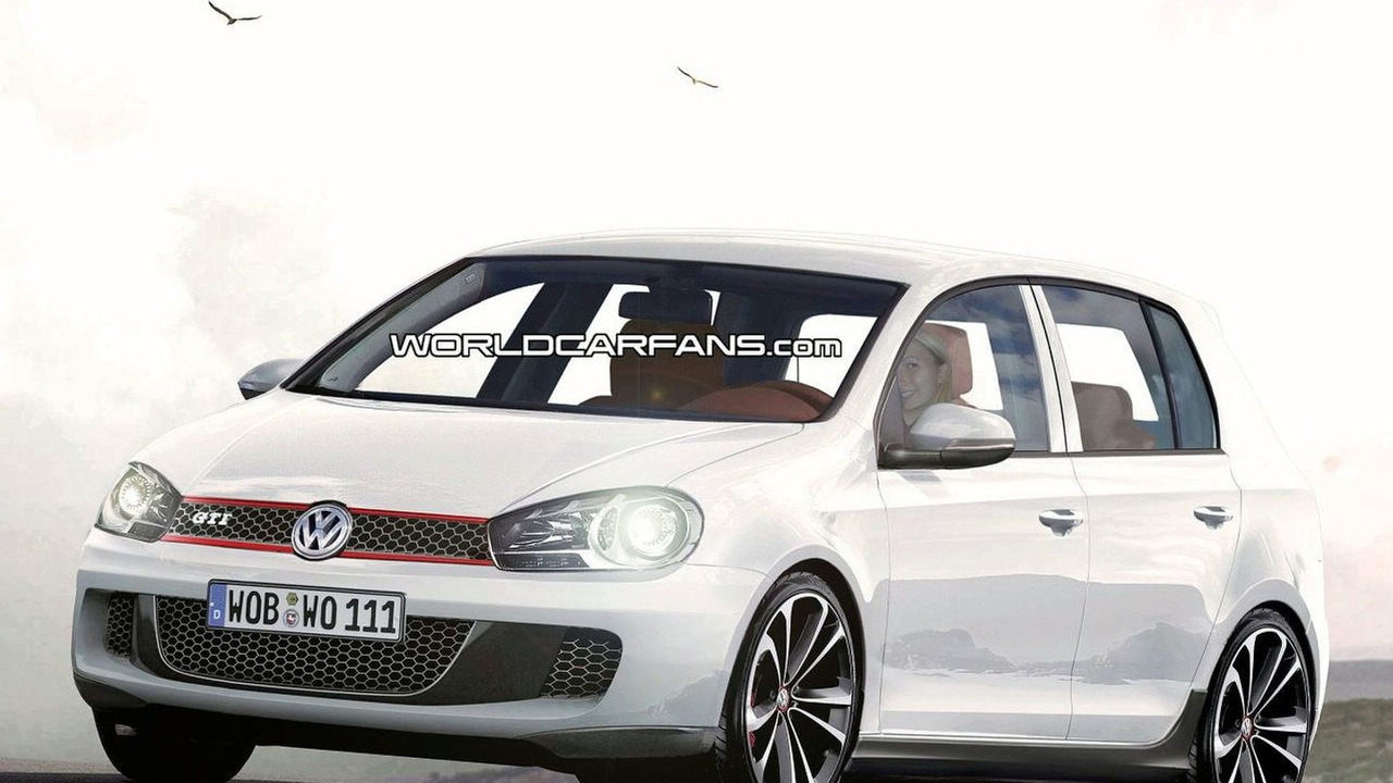 VW Golf VI GTI artist rendering