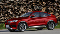 BMW X4 speculative rendering, 1000, 26.04.2012