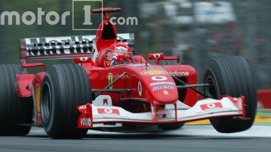 Schumacher Ferrari racer sells for a record $7504000 at an art auction
