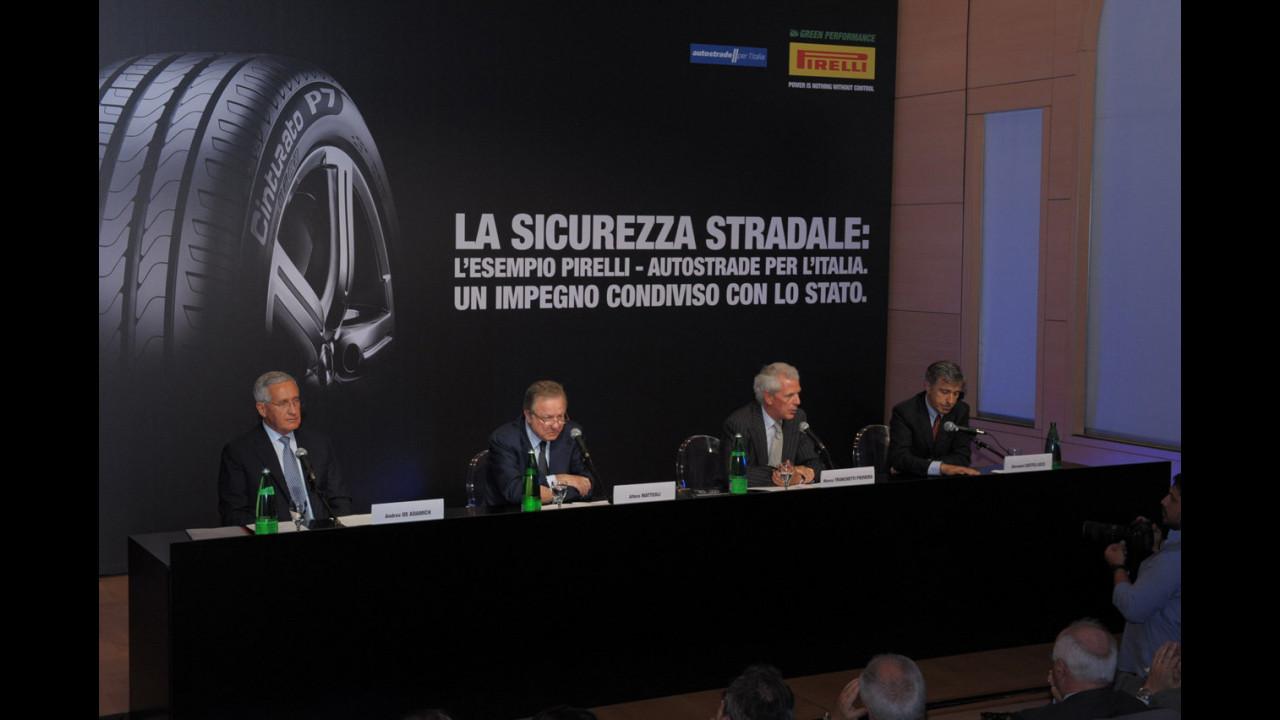 Gruppo Pirelli e Autostrade per l'Italia presentano