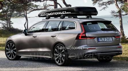 2019 Volvo V60 First Official Images May Have Leaked Online