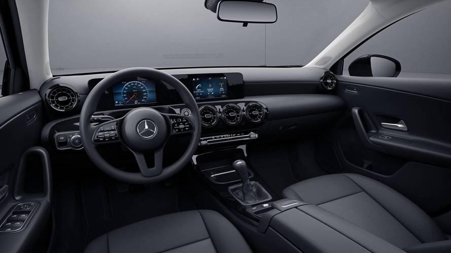 2018 Mercedes A-Serisi giriş paketi