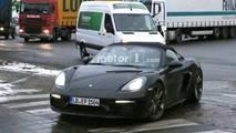 Porsche 718 Boxster Spyder casus foto